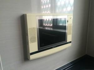 浴室テレビ取替工事(緑区)施工前