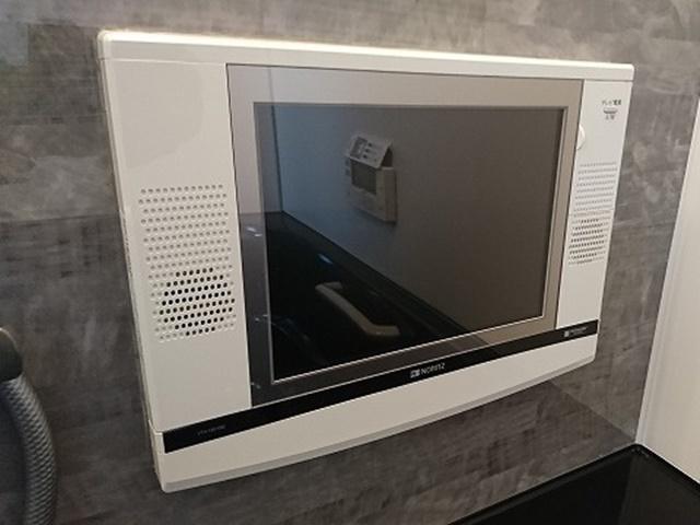 既設の浴室テレビ